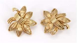 14KY Gold Earrings