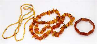 Amber Necklaces, Bracelet