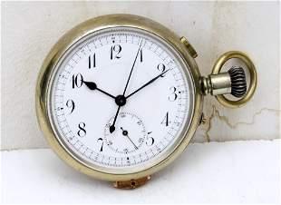 Repeater Hour - Quarter Hour Pocket Stop Watch