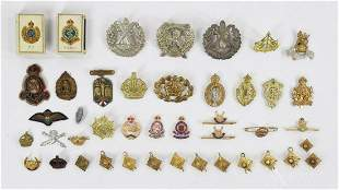 Foreign Military Pins/Badges-Gimbel Provenance