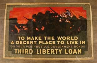 WWI Third Liberty Loan Poster