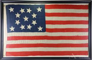 Historic United States Naval Ensign