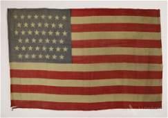 Historic 45-Star United States Flag