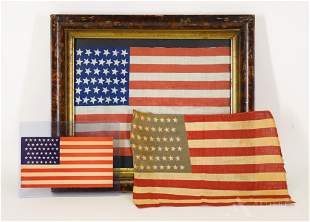 Historic United States Flag and Related Items