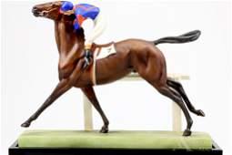 Royal Worcester Jockey  Horse