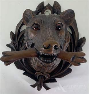 Black Forest Wood Carving