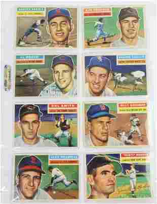 1956 Topps Baseball Cards