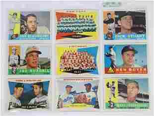 1959-63 Topps Baseball Cards