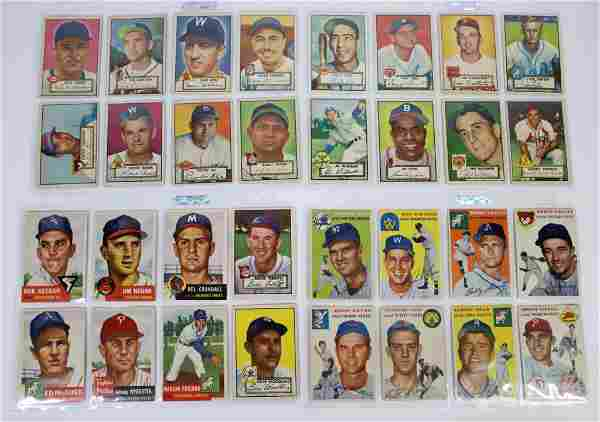1952-58 Topps & Bowman Baseball Cards