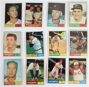 1961 Topps Baseball Cards