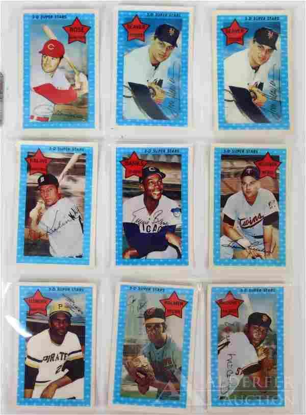 1971 Kellogg's 3-D Baseball Card Set