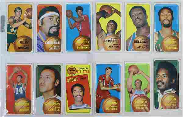 1969-70 & 1970-71 Topps Basketball Cards