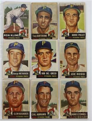 1953-1974 Pittsburgh Pirates Baseball Cards