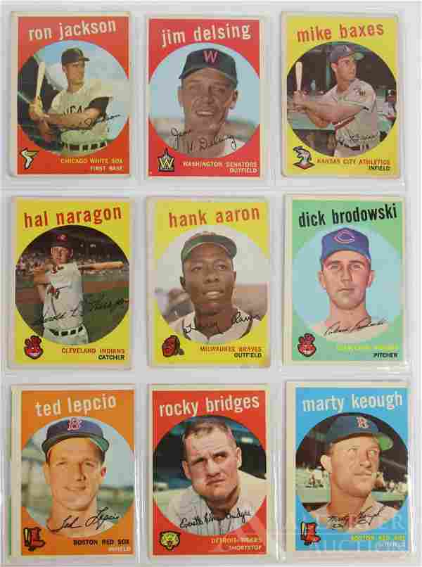 1952-1965 Topps Baseball Cards