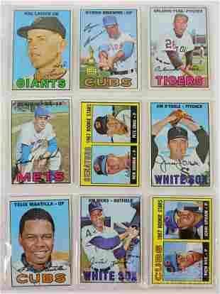 1967-1969 Topps Baseball Cards