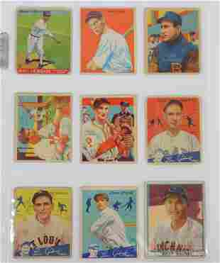 1930's-40's Goudey, Play Ball & National Chicle