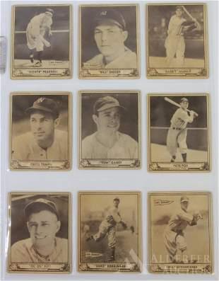 1940 Playball Baseball Cards