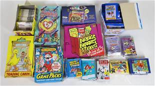 No-Sports Trading Cards & Album Stickers Lot