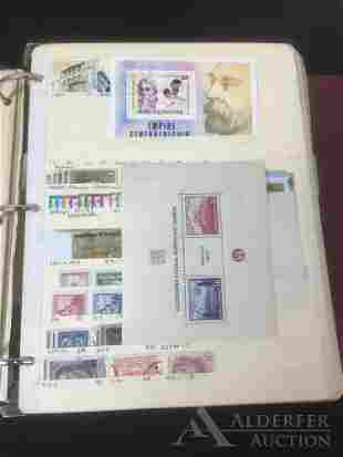 Worldwide Stamps Stock Book