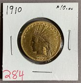 $10 INDIAN GOLD