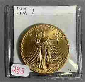 $20 ST. GAUDENS GOLD