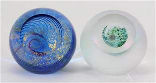 Glass Eye Studio Art Glass Paperweights