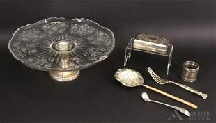 Sterling & Silver Plate Tableware