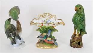 Heidenreich for Rosenthal, Porcelain & Ceramic Birds