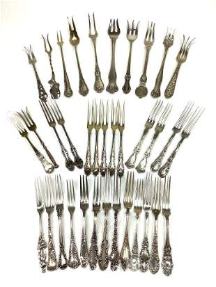 Sterling Silver Specialty Forks