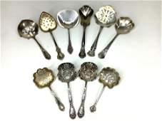 Sterling Silver Bon Bon Spoons