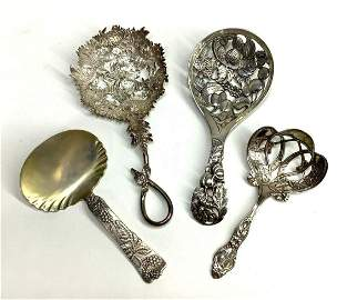Sterling Silver Bon Bon Spoons, Tiffany & Co.