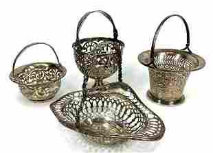 Sterling Silver Baskets