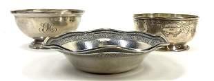 Sterling Silver Bowls,  S. Kirk,  B.B&B