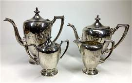 "Fisher ""Revere"" Sterling Silver Tea Service"