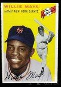 1954 Topps Willie Mays baseball card