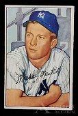 1952 Bowman Mickey Mantle baseball card