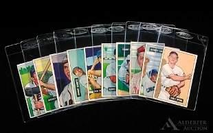1951 Bowman baseball cards (10)
