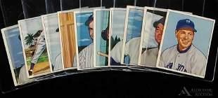 1950 Bowman baseball cards (10)
