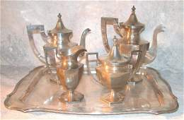 469: Stieff Sterling Silver Tea Service.