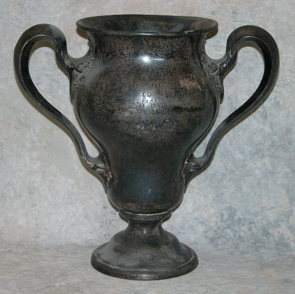 472: Sterling Silver Loving Cup/Trophy.