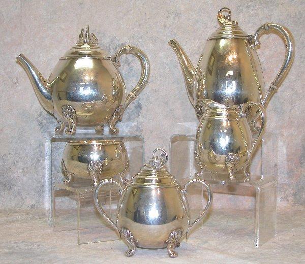 485: International Silver Coffee and Tea Serv