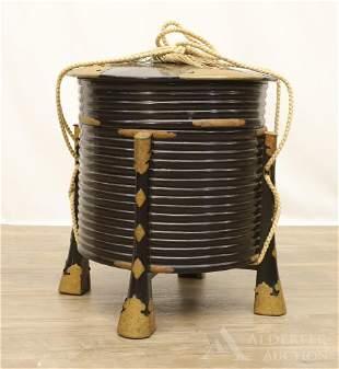 Lacquered Japanese Jubako Box