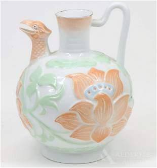Eggshell Porcelain Ewer