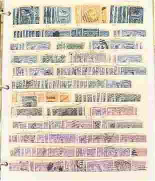 US Stamp Collection BOB