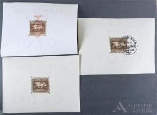 German Stamp #B90, #102, #105