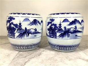 Blue & White Cachepots