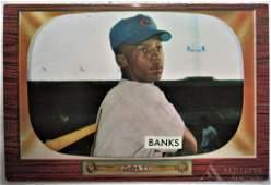 1955 Bowman Ernie Banks Baseball Card