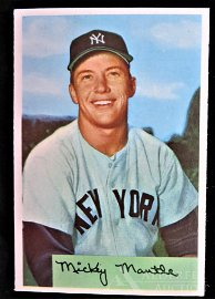 1954 Bowman Mickey Mantle Baseball Card