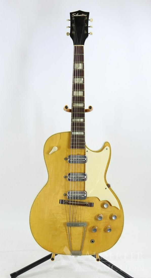 Silvertone Electric Guitar