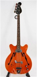 Robert Plant-Autographed Fender Coronado Bass